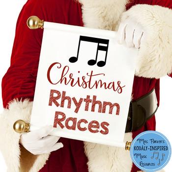 Christmas Rhythm Races Game {Ti-Tika}