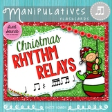 Rhythm Game - Takadi - Christmas Flashcards