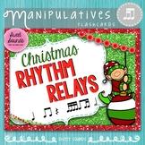 Printable Rhythm Cards Game - Takadi - Christmas