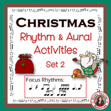 Christmas Rhythm and Aural Activities SET 2