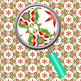 Christmas Ribbon Background / Textures / Digital Papers Clip Art