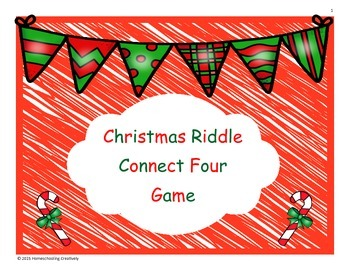 Christmas Riddle Connect Four