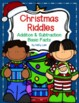 Christmas Riddles -- Addition & Subtraction