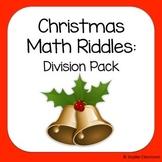 Christmas Long Division Math Riddles