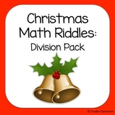 Christmas Long Division Math Riddles