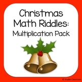 Christmas Multiplication Math Riddles