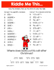 Christmas Scientific Notation Math Riddles