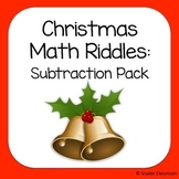 Christmas Subtraction Math Riddles