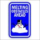 Christmas Road Sign Decorations/Clipart