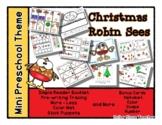 Christmas Robin Sees - Mini Preschool Theme - Christmas Objects