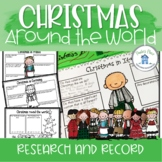 Christmas Around the World Research Templates