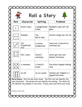 Christmas Roll A Story