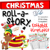 Christmas Roll A Story (Print & Editable)