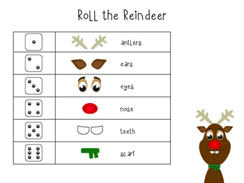 Christmas Roll Bundle - Printable Games