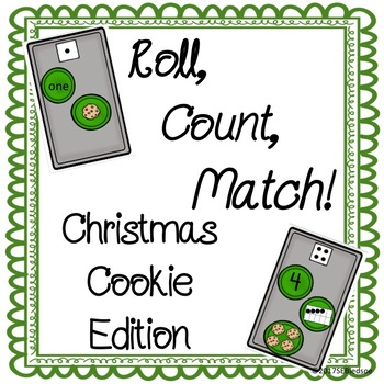 Christmas Roll, Count, and Match!