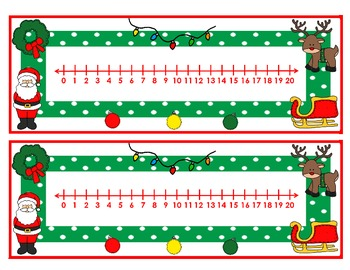 Christmas Roll, Keep, Say             An Addition and a Subtraction Game