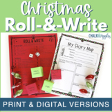 Christmas Writing Activity - Roll & Write Center for Big Kids