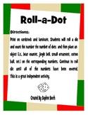 Christmas Roll a Dot Game