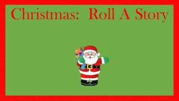Christmas Roll a Story Activity