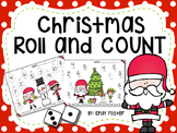 DOLLAR DEAL!! Christmas Roll and Color Addition Game