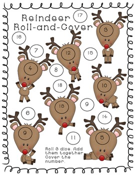 Christmas Roll and Cover FREEBIE!