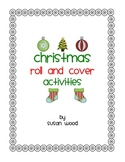 Christmas Roll and Cover Game Boards