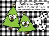 Christmas Roll and Cover with 1, 2, and 3 Dice
