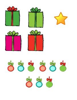 Christmas Roll and Draw a Christmas Tree (2 games in 1) by Elena Ortiz
