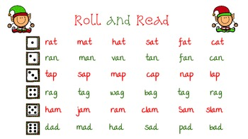 Christmas Roll and Reads