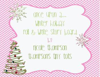 Christmas Roll and Write