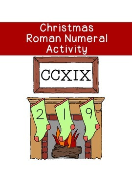 Christmas Roman Numeral Conversion Activity Math Coloring Pages Printable