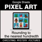Christmas: Rounding to the nearest 100th - Google Sheets P
