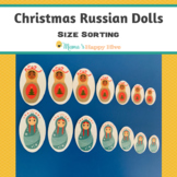 Christmas Russian Dolls - Size Sorting