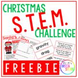 SANTA CHALLENGE // CHRISTMAS STEM // CHRISTMAS ACTIVITIES