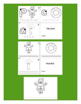 Christmas SPANISH Workbook & Games Package