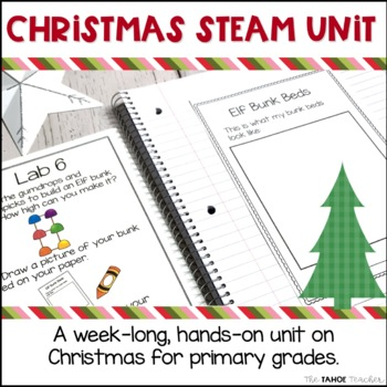 Christmas STEAM Centers | Science Centers for Primary Grades