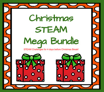 Christmas STEAM Challenge MEGA BUNDLE