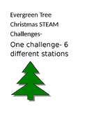 Christmas STEAM Challenge Package-One main challenge with 6 STEAM stations