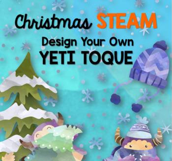 Christmas STEAM: Design A Toque for a Yeti