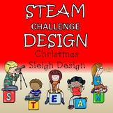 Christmas STEAM Design Challenge - Santa's Sleigh