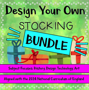 Christmas STEAM: Design Your Own Christmas Stocking BUNDLE