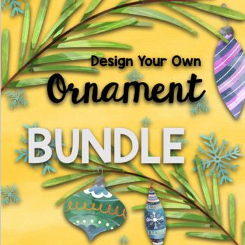 Christmas STEAM: Design Your Own Christmas Tree Ornament BUNDLE