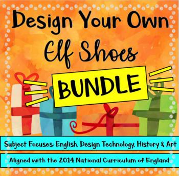 Christmas STEAM: Design Your Own Elf Shoes BUNDLE