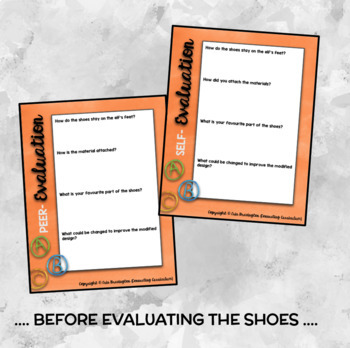 Christmas STEAM: Design Your Own Elf Shoes + Explanation Text BUNDLE