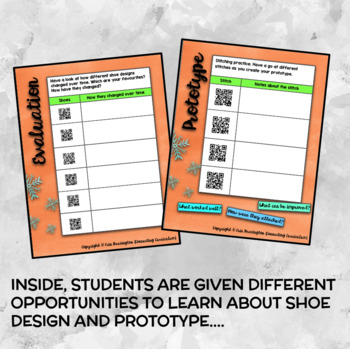 Christmas STEAM: Design Your Own Elf Shoes Persuasive Text