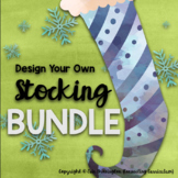 Christmas STEAM: Design a Christmas Stocking BUNDLE