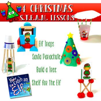 Christmas STEAM STEM Bundle