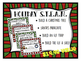Christmas STEAM STEM Bundle *Editable Word Documents*