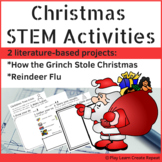 Christmas STEM, The Grinch STEM Activities with Student Booklet