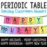 Christmas STEM Decorations - Periodic Table Holiday Bullet